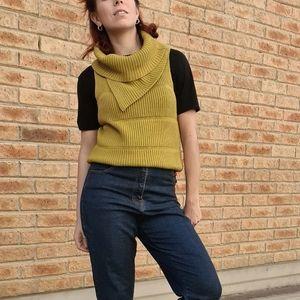 Kiwi knit vest roll kneck Size 6-12